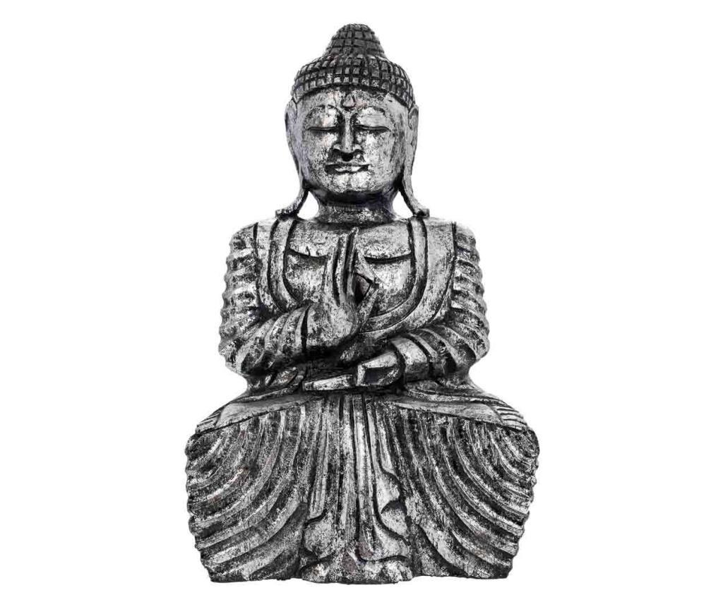 Decoratiune Buddha - Creaciones Meng, Gri & Argintiu vivre.ro