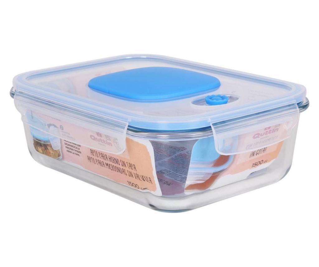 Cutie pentru pranz 1.5 L - QUTTIN, Albastru poza
