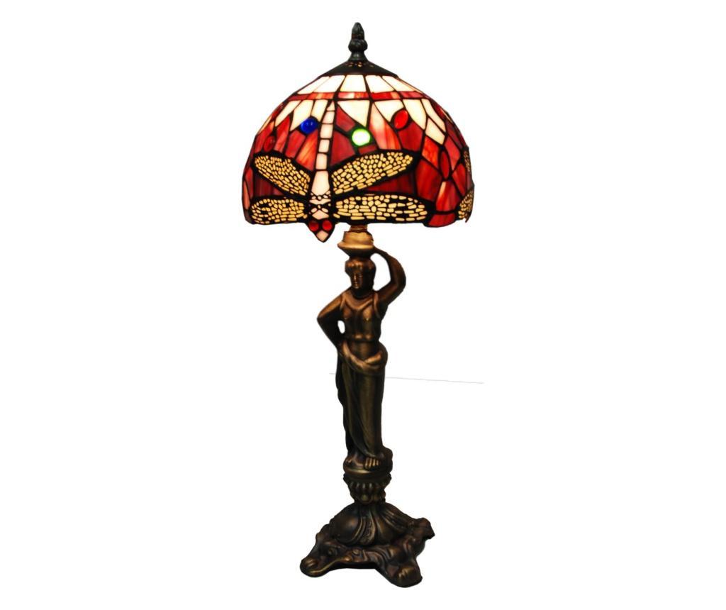 Lampa de masa Red - Tiffan y Luz, Rosu