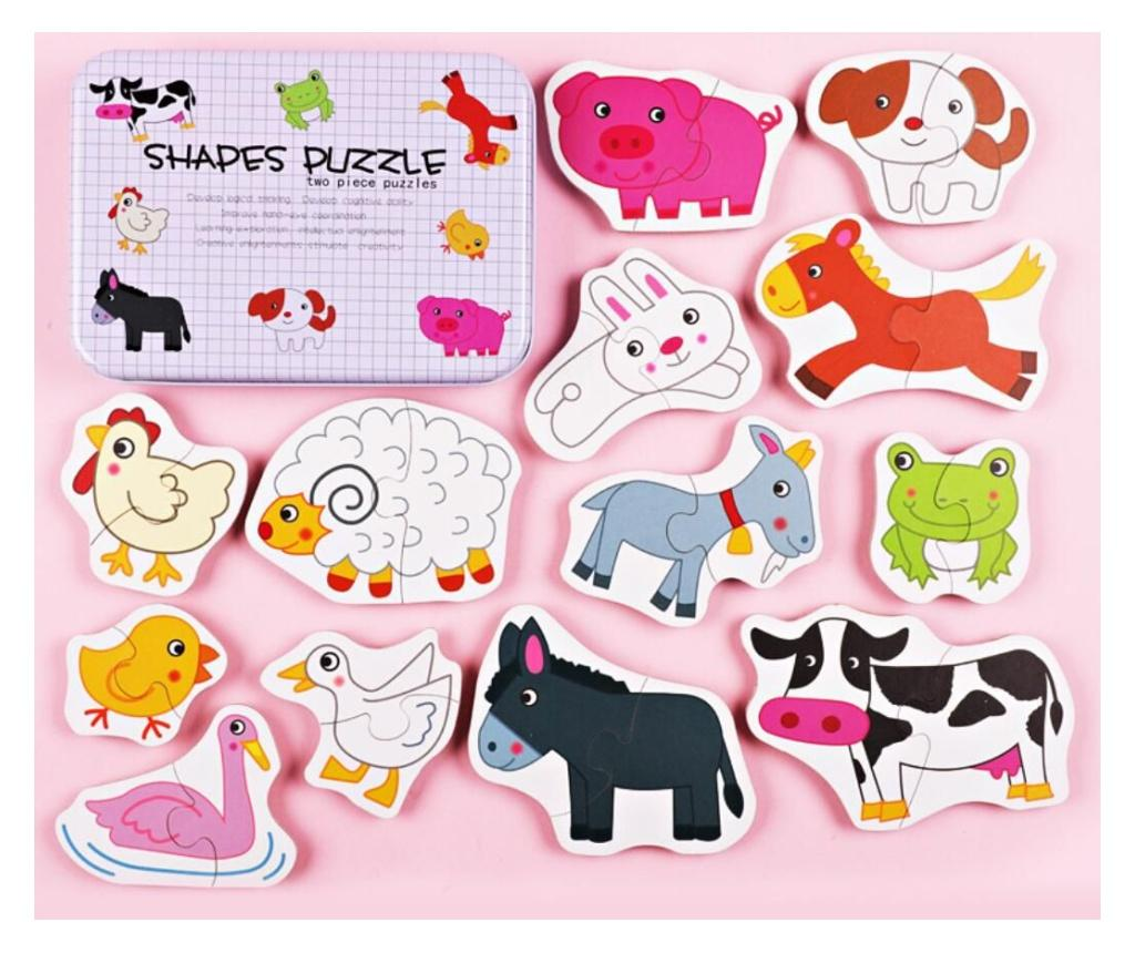 Puzzle 26 piese - Juguetes BP, Multicolor imagine