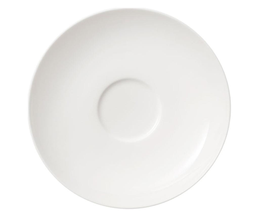 Set 6 farfurioare Twist White - Villeroy & Boch, Alb poza
