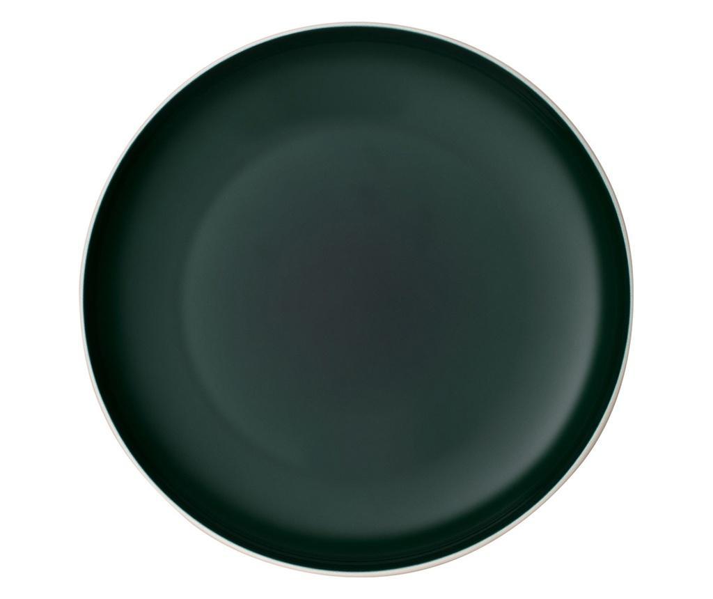 Set 6 farfurii intinse it's my match green - Villeroy & Boch, Verde poza