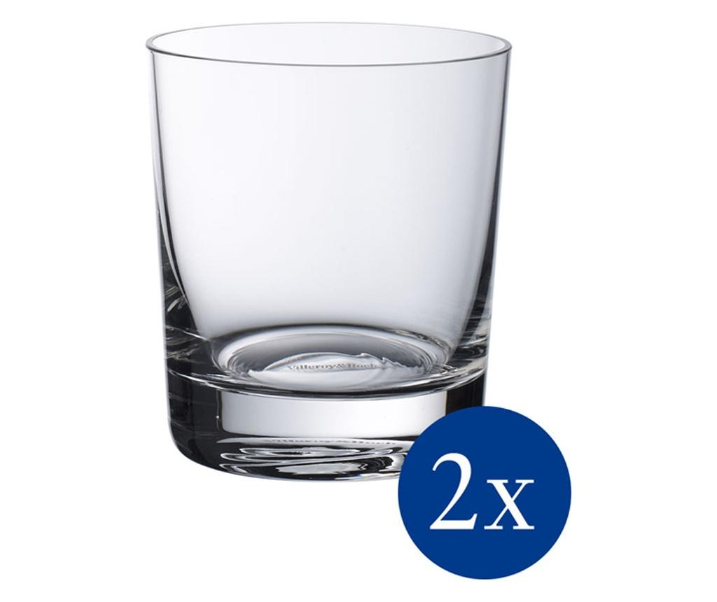 Set 2 pahare Purismo Bar 320 ml - Villeroy & Boch, Alb poza