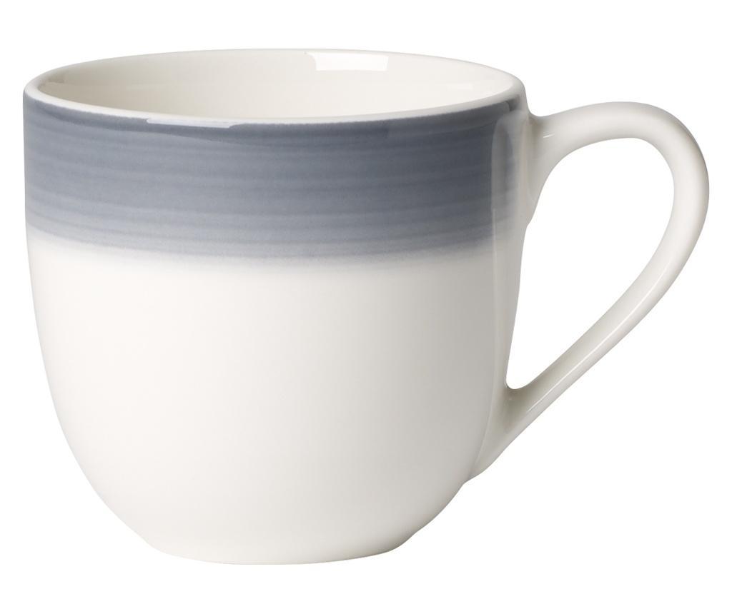 Set 6 cesti pentru espresso Colourful Life Cosy Grey 100 ml - Villeroy & Boch, Gri & Argintiu vivre.ro