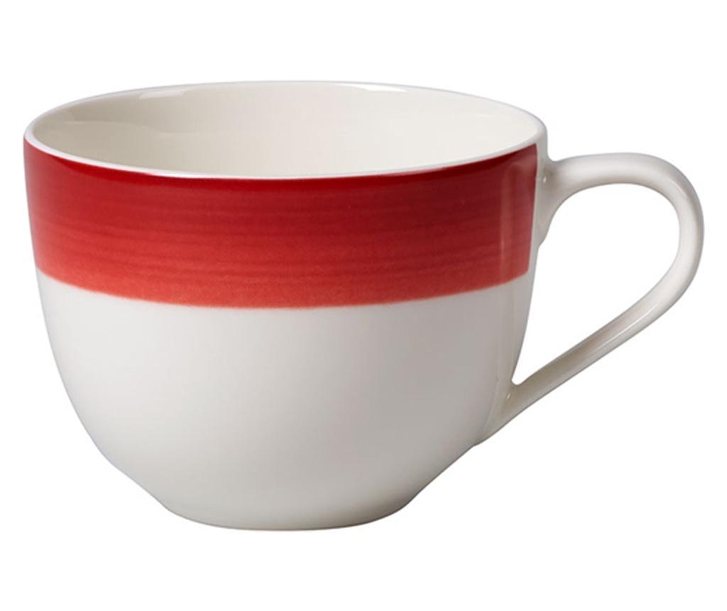 Set 6 cesti pentru cafea Colourful Life Deep Red 230 ml - Villeroy & Boch, Rosu poza