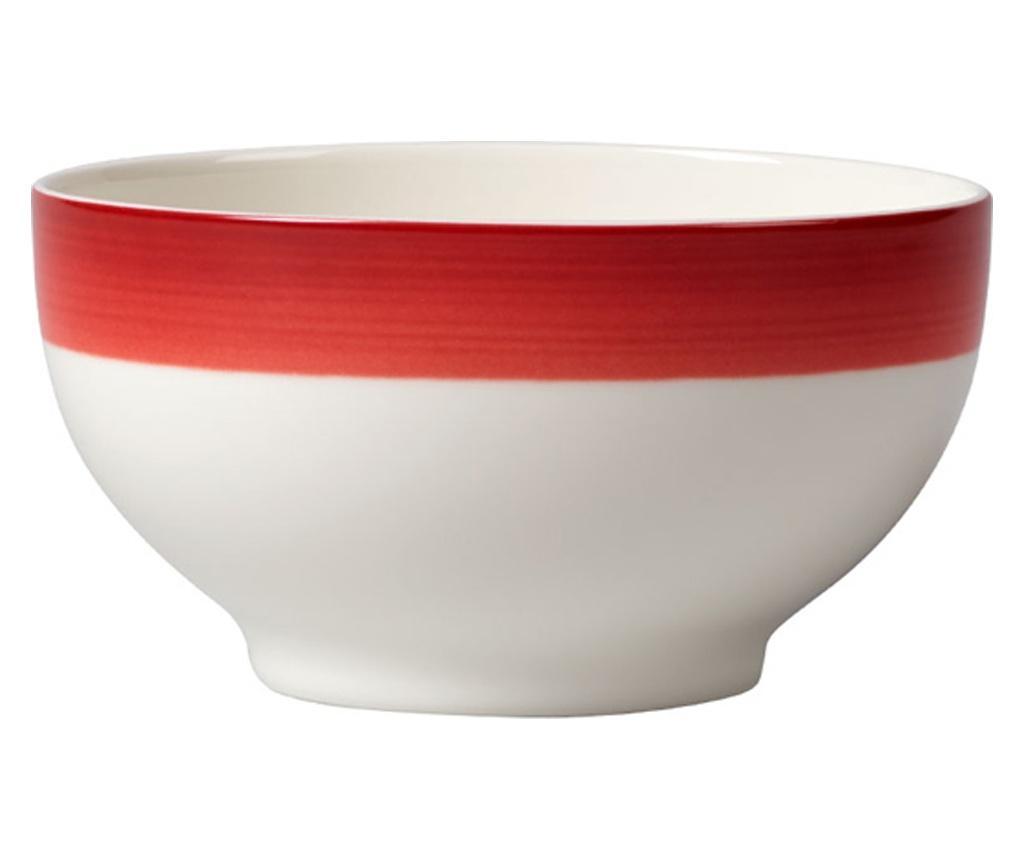 Set 4 boluri Colourful Life Deep Red 750 ml - Villeroy & Boch, Rosu imagine