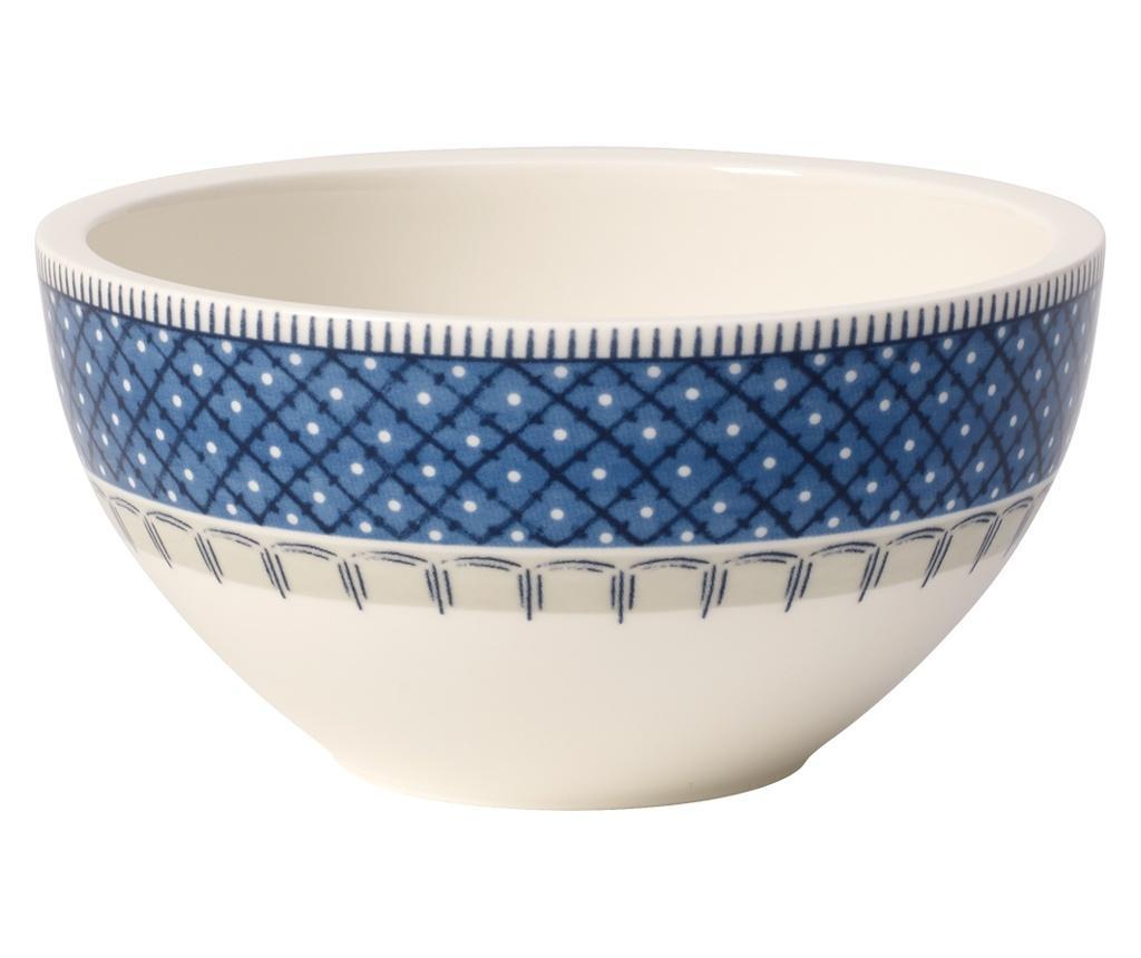 Set 4 boluri Casale Blu 600 ml - Villeroy & Boch, Multicolor imagine