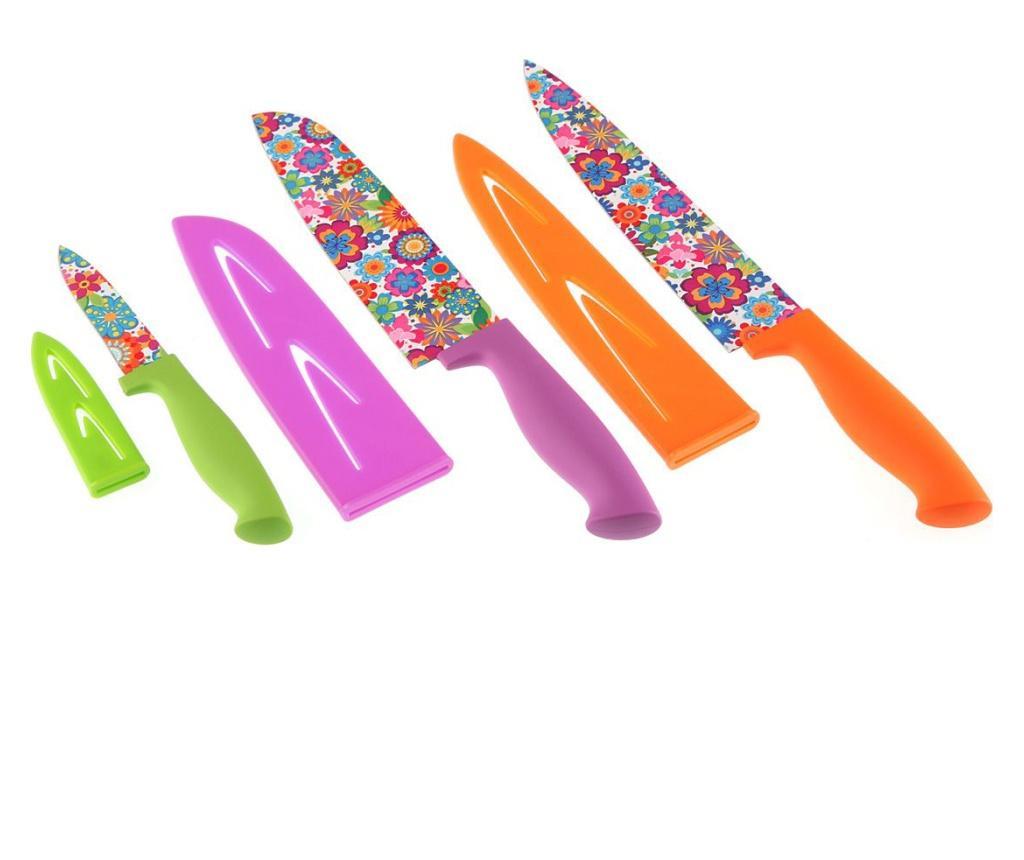 Set 3 cutite - Versa, Multicolor poza