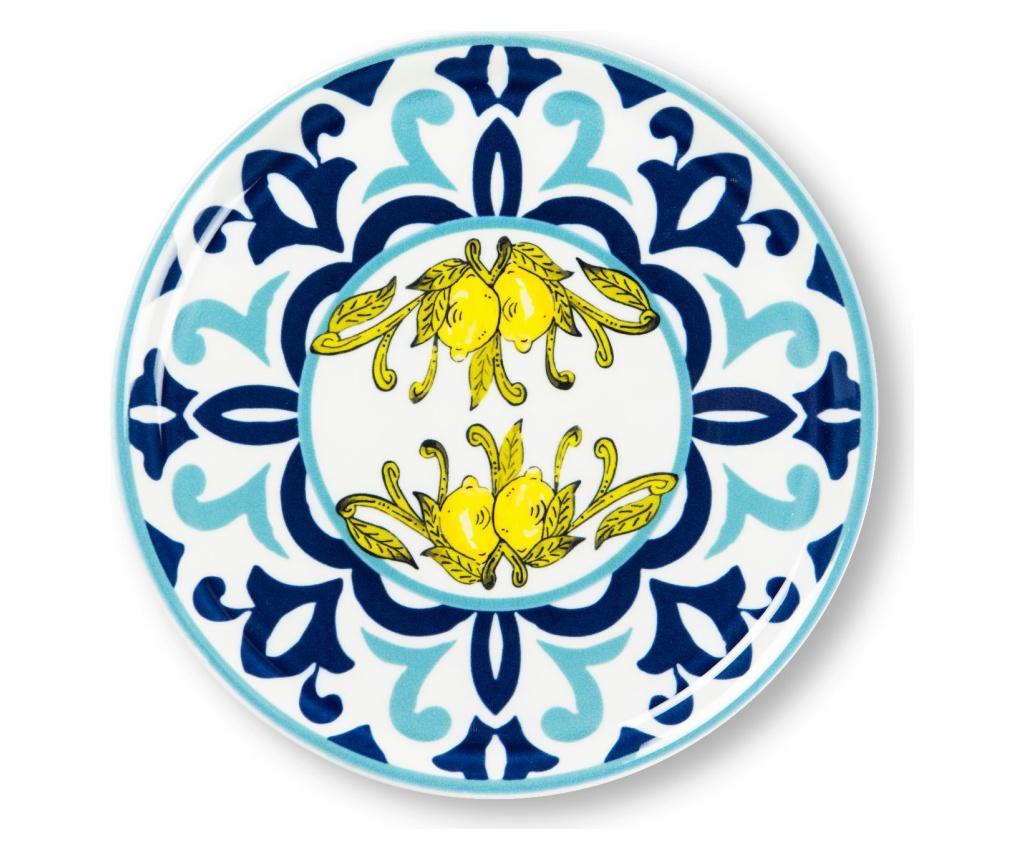 Platou pentru pizza New Amalfi - Excelsa, Albastru poza