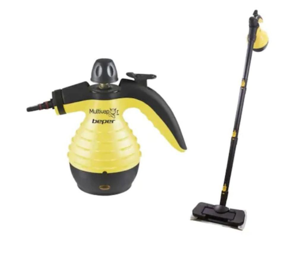 Mop electric cu aburi Beper - Beper, Negru poza