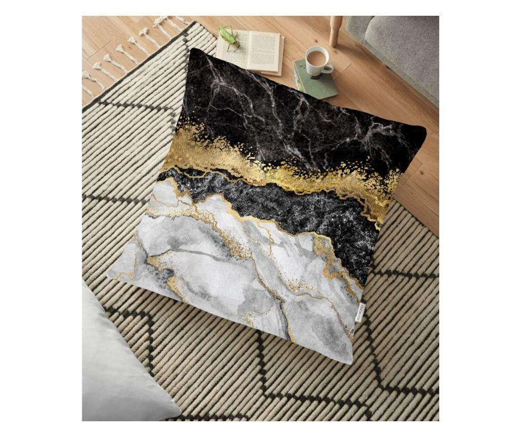 Fata de perna 70x70 cm - Minimalist Cushion Cover, Negru imagine