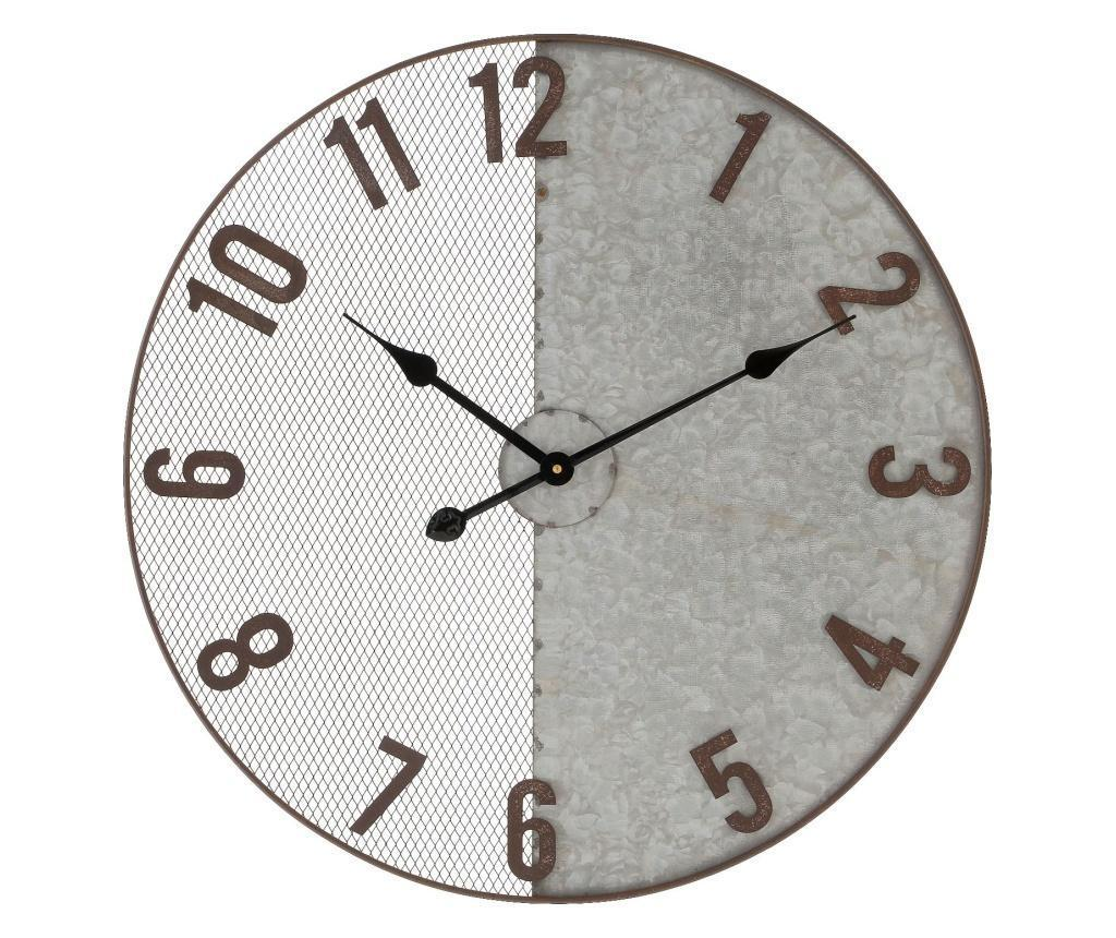 Ceas de perete - inart, Gri & Argintiu imagine