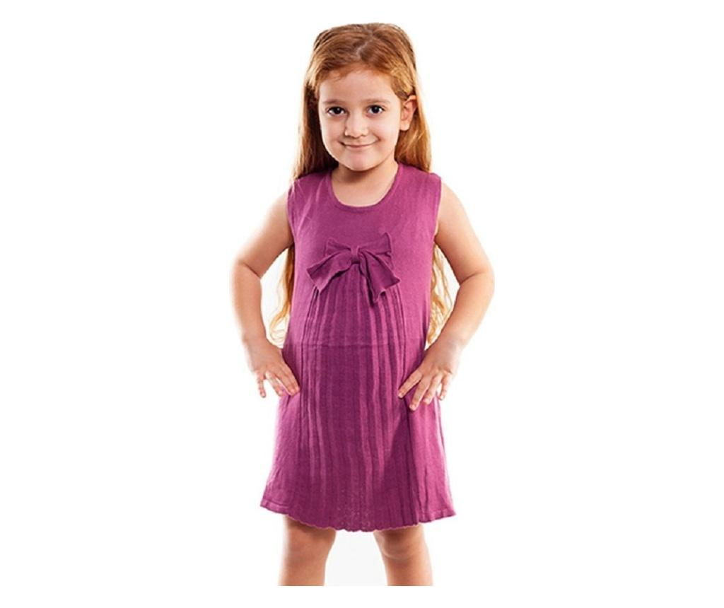 Rochie fete 4-5 years - Bani Kids, Roz imagine