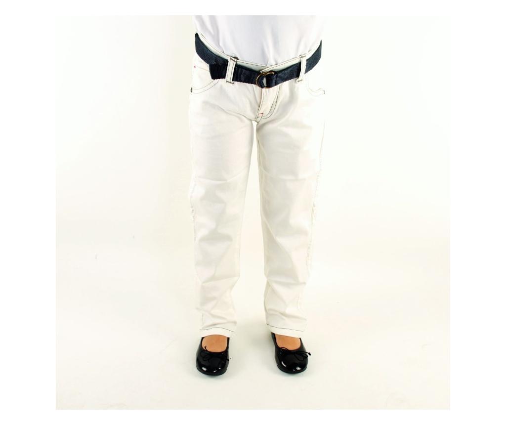 Pantaloni fete 5-6 years - Bani Kids, Crem imagine