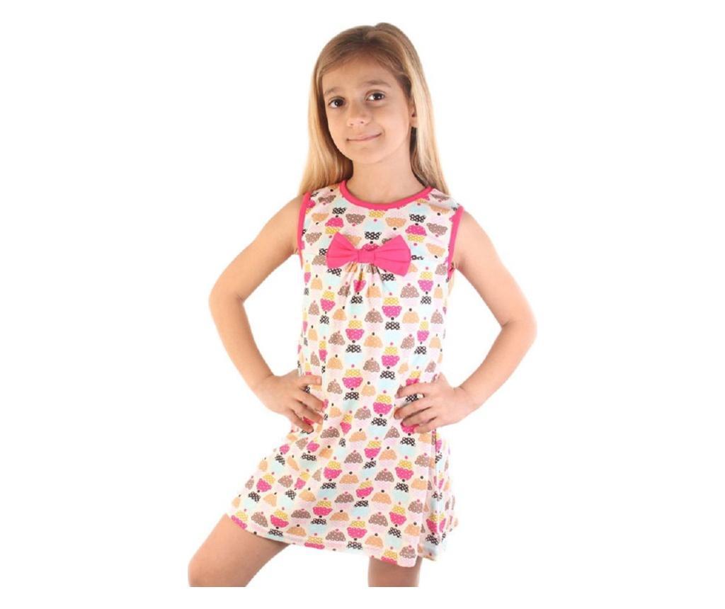 Rochie 5-6 ani - Dalmaz, Multicolor