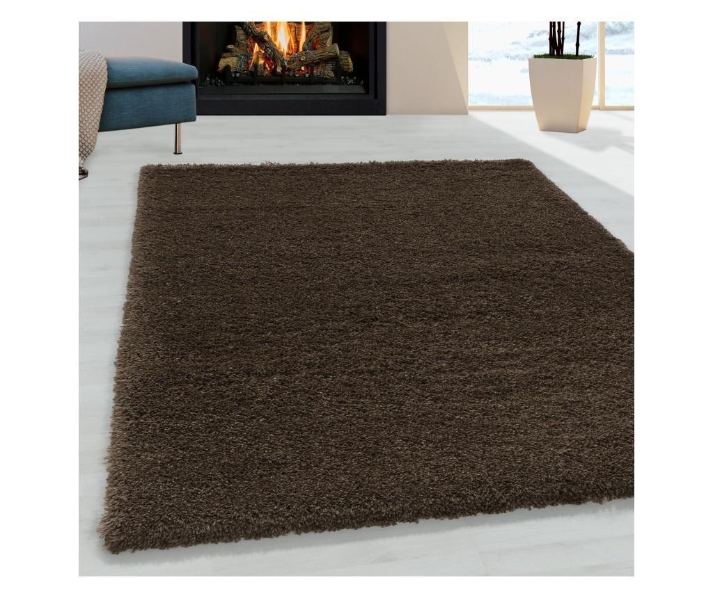 Covor Fluffy Brown 60x110 cm - Ayyildiz Carpet, Maro vivre.ro