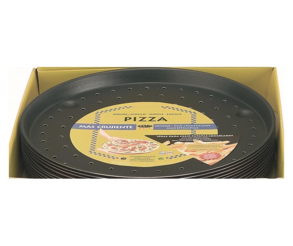 Tava de copt pentru pizza - ibili, Negru de la ibili