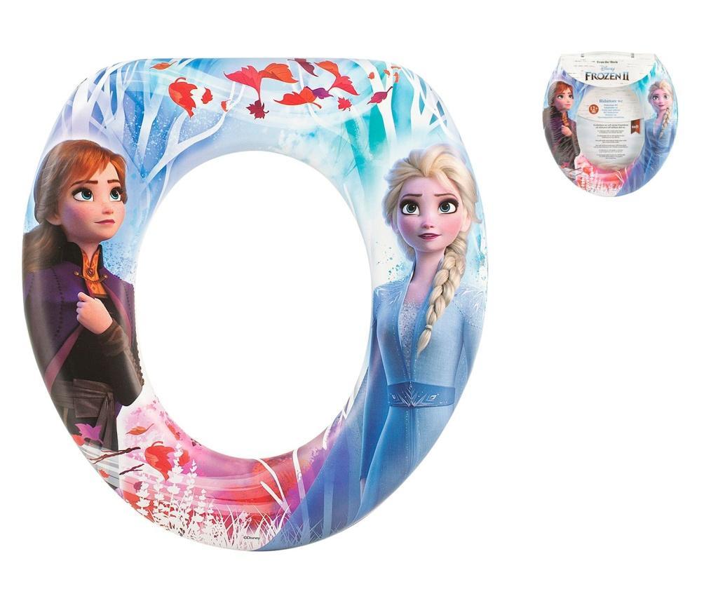 Capac pentru toaleta fete Frozen - Lulabi, Multicolor vivre.ro