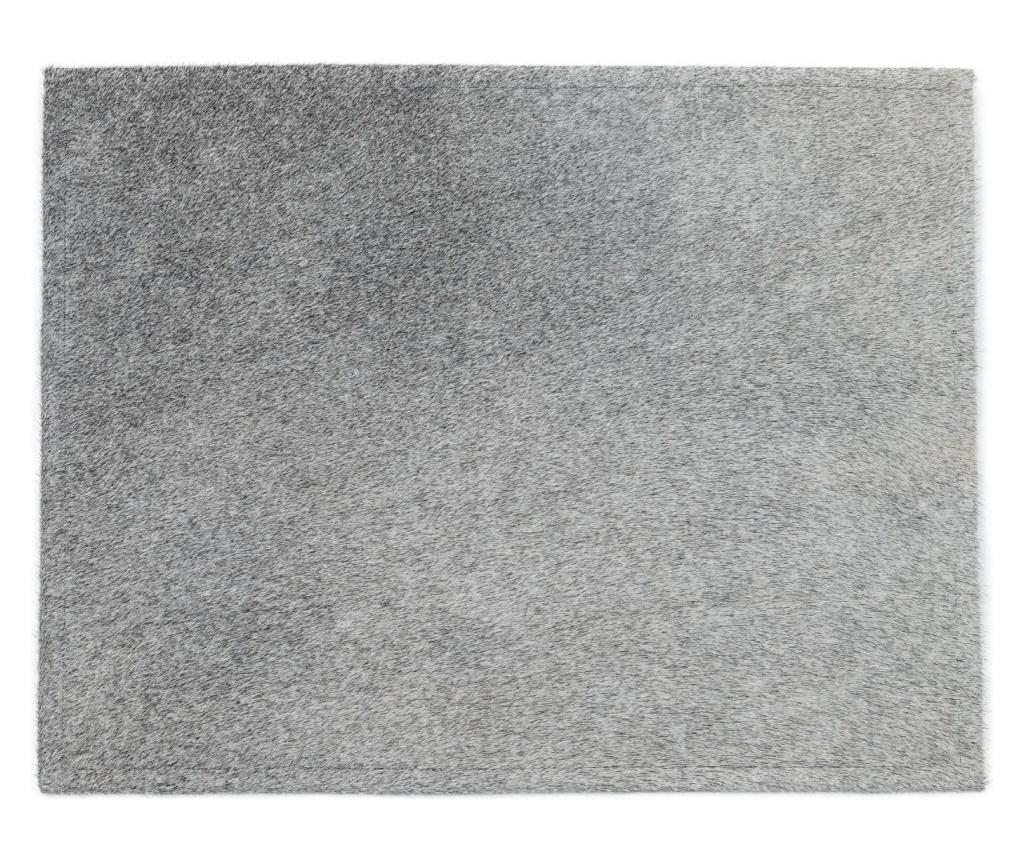 Suport farfurii 45x35 - Arctic Fur, Gri & Argintiu imagine