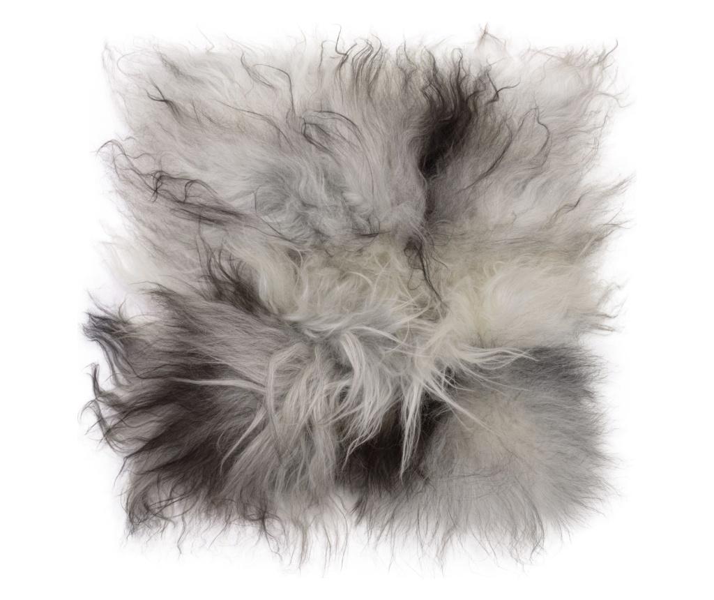 Perna de sezut Icelandic 40x40 - Arctic Fur, Gri & Argintiu imagine