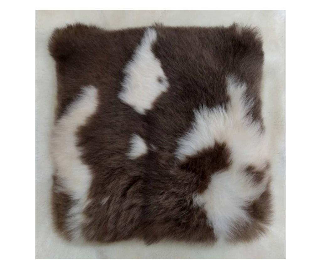 Perna de sezut 40x40 - Arctic Fur, Maro imagine