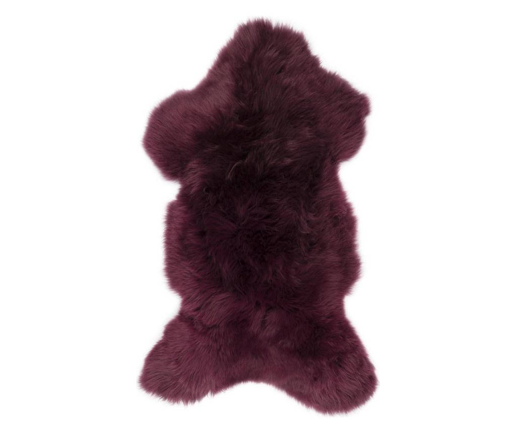 Covor Swedish 90x55 - Arctic Fur, Rosu imagine