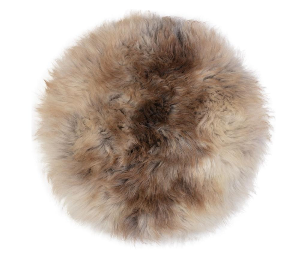 Perna de sezut British 40x40 - Arctic Fur, Maro imagine