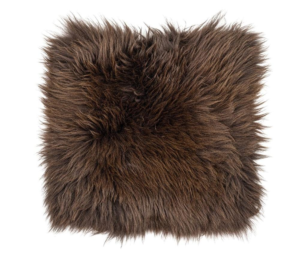 Perna de sezut British 40x40 - Arctic Fur, Maro imagine