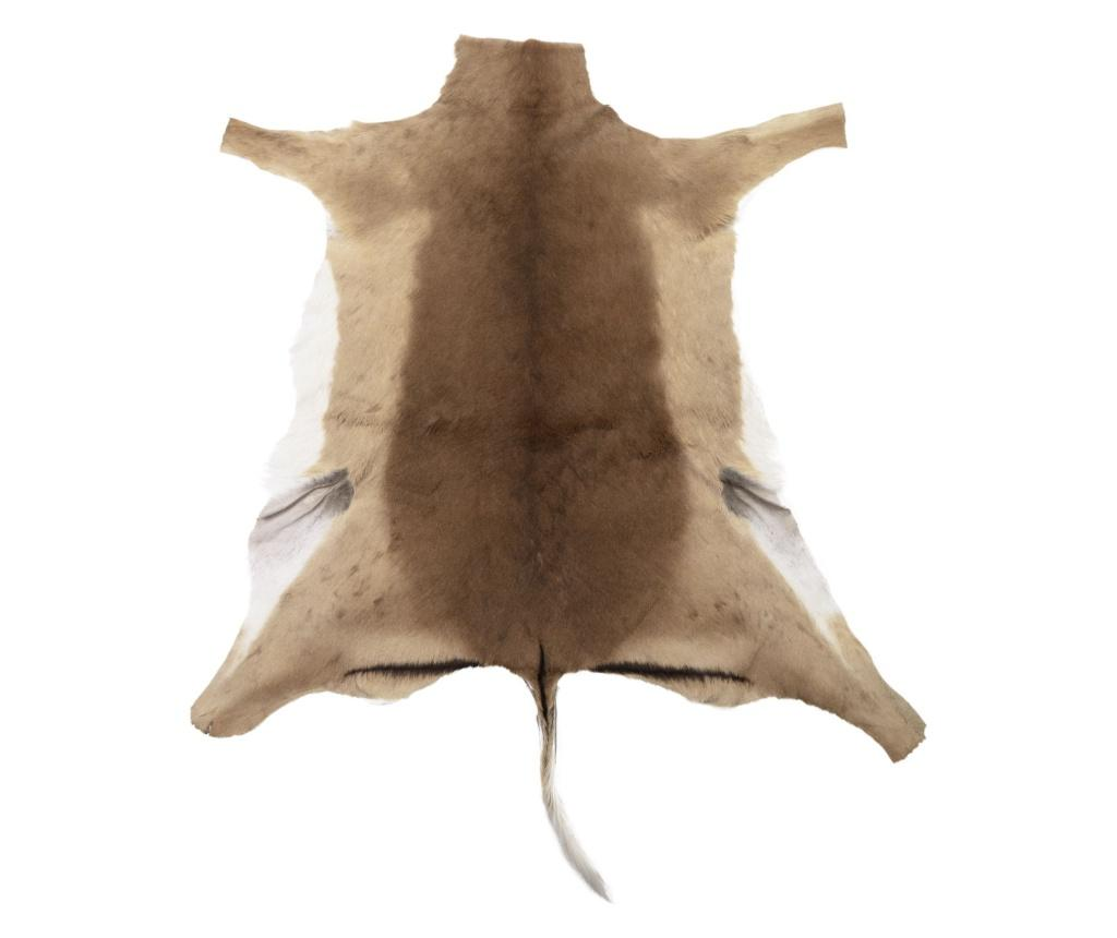 Covor din piele de animal Impala 98x60 - Arctic Fur, Maro imagine