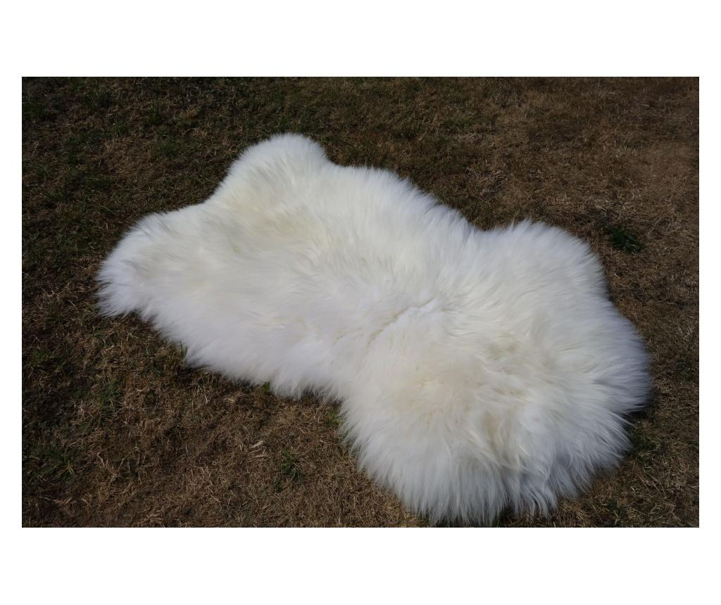 Covor British 100x60 - Arctic Fur, Alb imagine