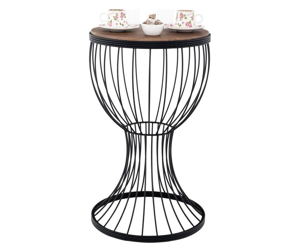 Masuta de cafea - Gauge Concept, Negru poza