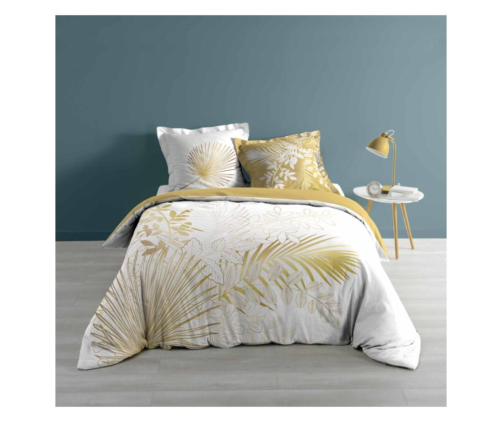 Set de pat Double Strassy White - douceur d'intérieur, Alb imagine vivre.ro