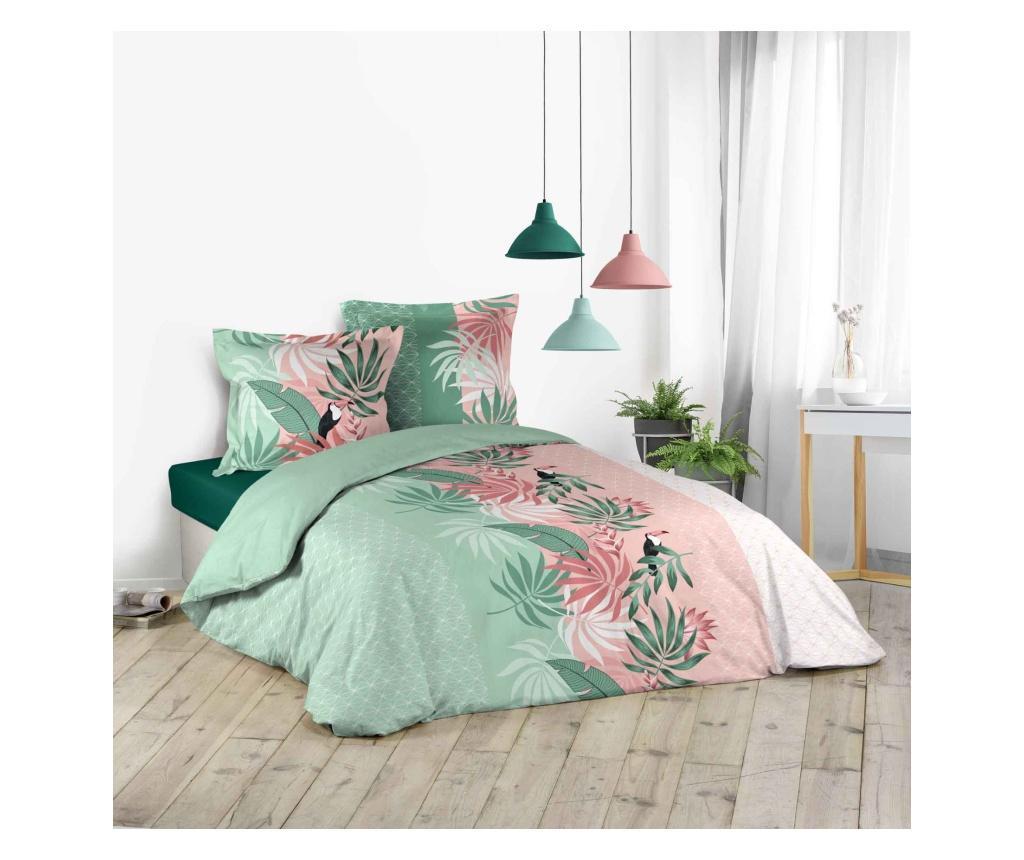Set de pat Double Balila - douceur d'intérieur, Multicolor vivre.ro