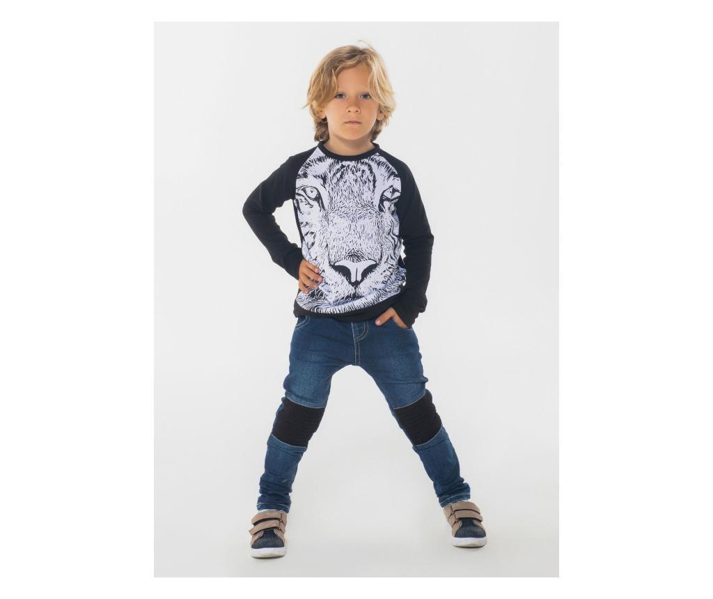Set bluza si pantaloni pentru baieti Leon 4 years - ZenoKido