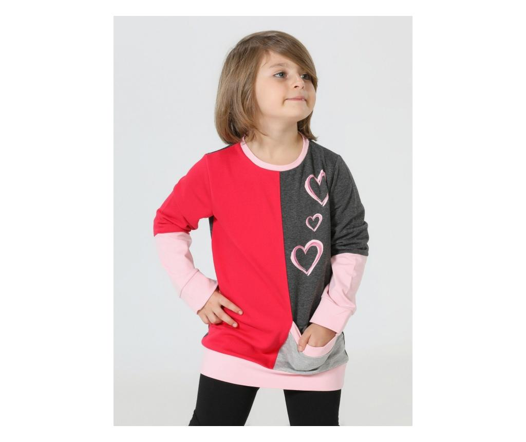 Hanorac Hearts 8 ani - ZenoKido, Multicolor