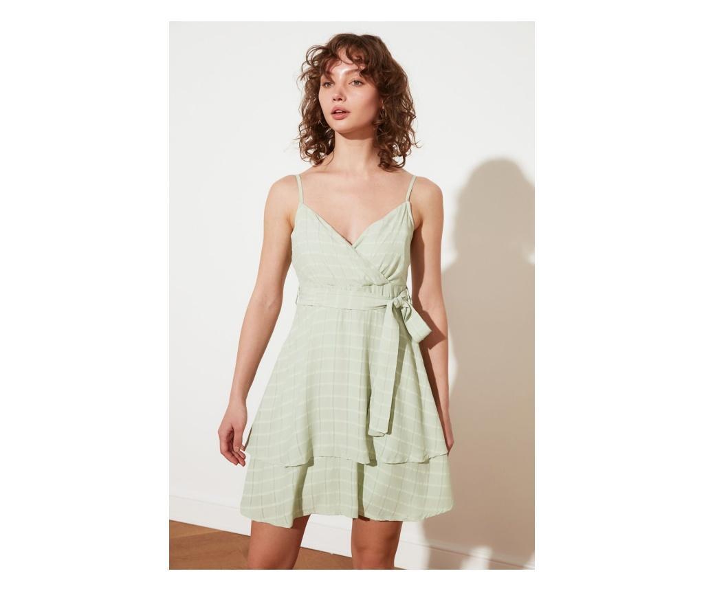 Rochie scurta dama Venus M, Trendyol, verde menta - Trendyol, Verde