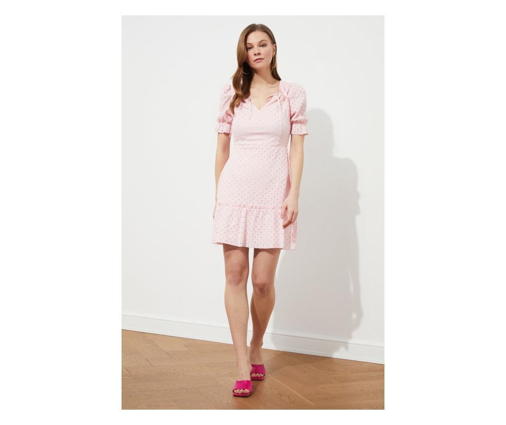 Rochie dama Freyja M, Trendyol, roz pudra - Trendyol, Roz