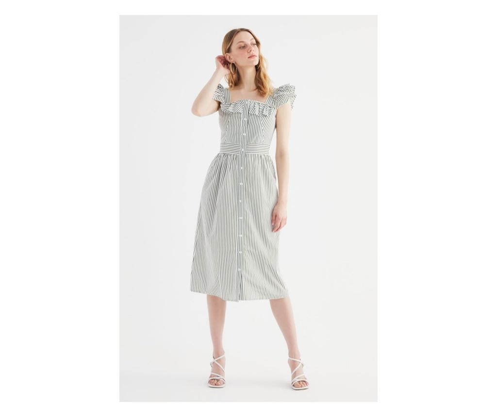 Rochie dama Frilly M, Trendyol, kaki - Trendyol, Verde