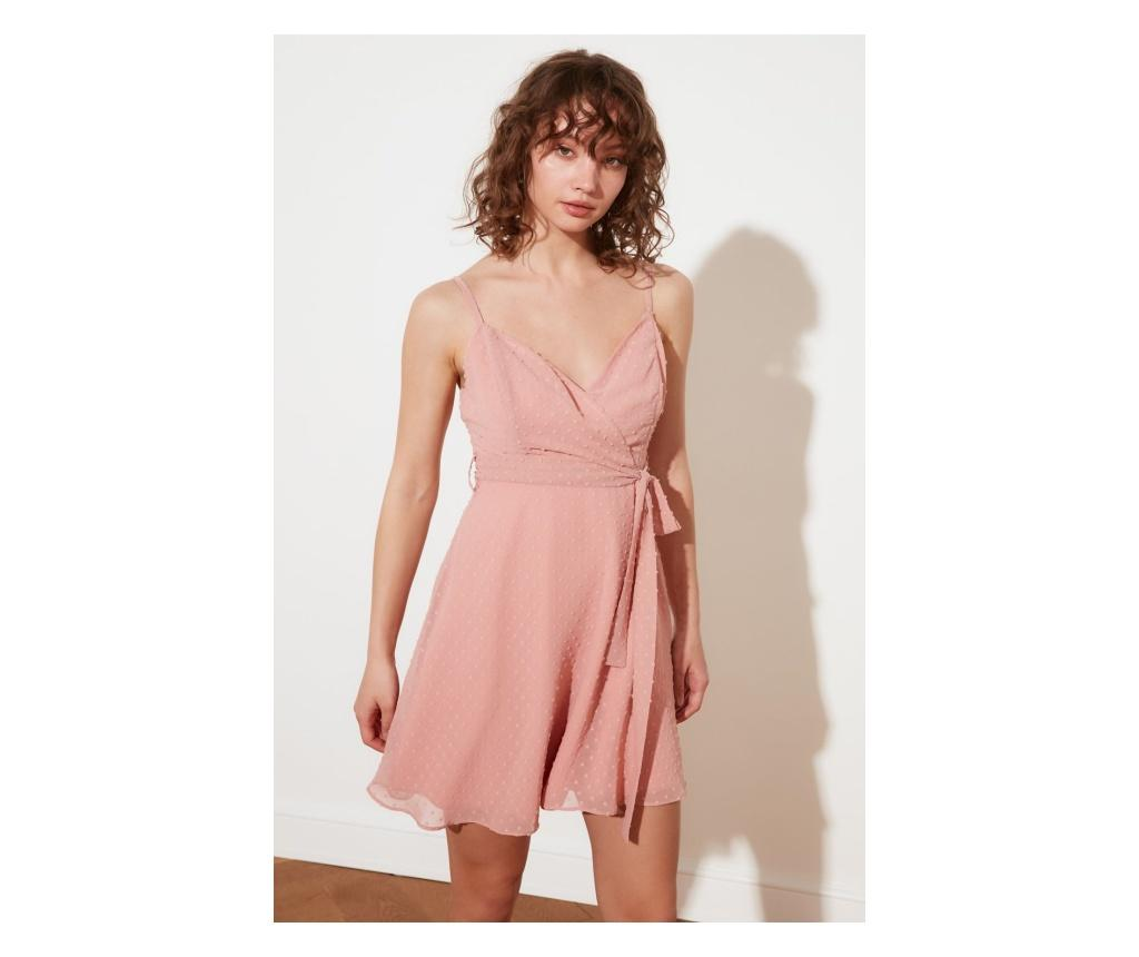 Rochie dama Gul Dry Petite M, Trendyol, roz trandafiriu - Trendyol, Roz