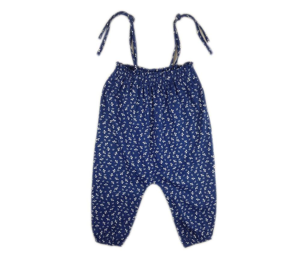 Salopeta scurta Luggi Baby 6-9 luni - Luggi Baby, Albastru