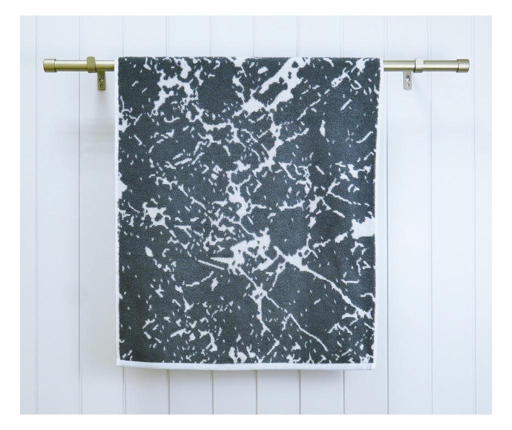 Prosop de baie Marble Grey 70x140 cm - Ardenza, Gri & Argintiu