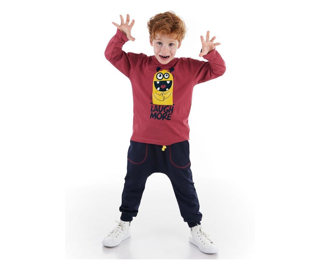 Set bluza si pantaloni 6 ani - Denokids, Negru