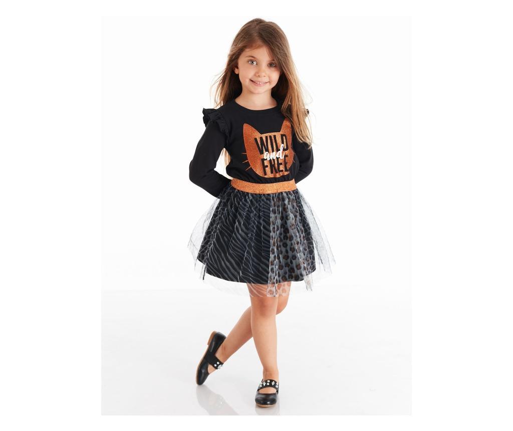 Rochie 6 ani - Mushi, Negru