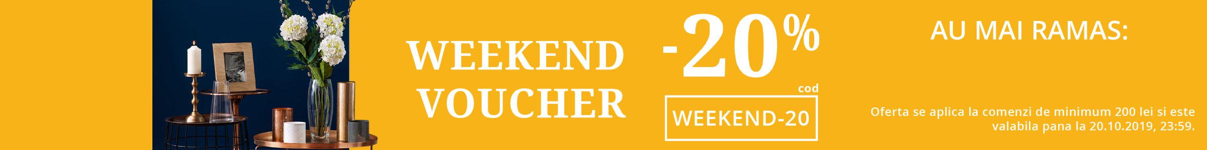 Weekend Voucher