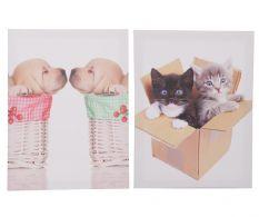 Set 2 tablouri Kitten