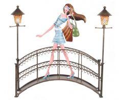 Suport de bijuterii Girl on bridge