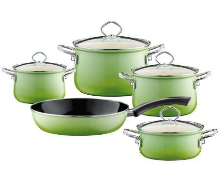 9-dijelni set posuda za kuhanje Smaragd