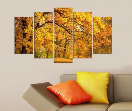 Set 5 tablouri Autumn