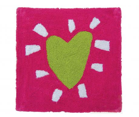 Covoras de baie Heart on Pink