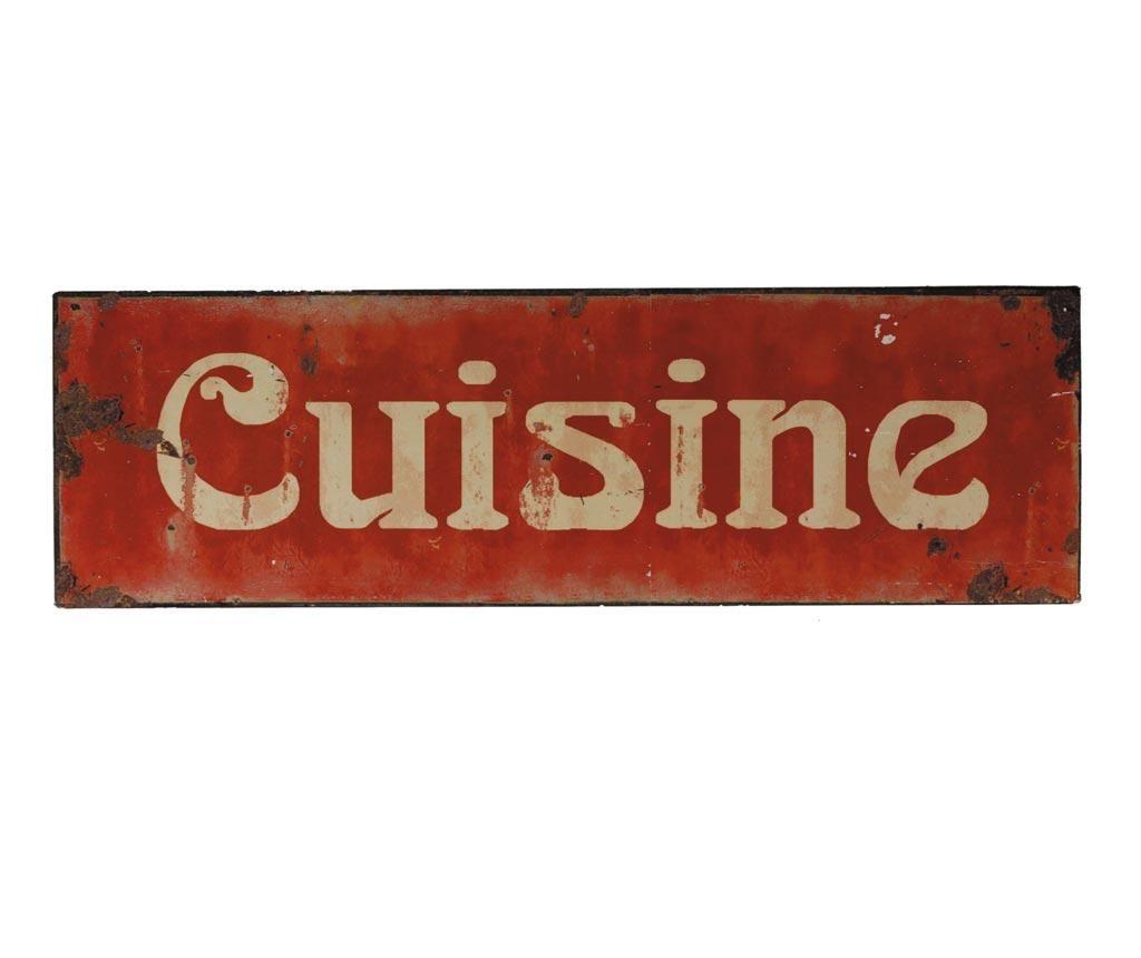 Cuisine Fali dekoráció
